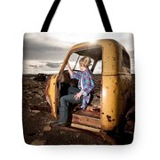 Stepping Away Tote Bag