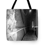 Stepping Down Tote Bag