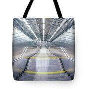 Stepping Down To The Underground Tote Bag
