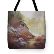 Stepping Out Of The Woods Tote Bag
