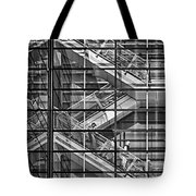 Stepping Panes Tote Bag