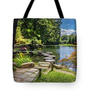 Stepping Stones Japanese Garden Maymont Tote Bag