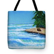 Steps Beach, Rincon Tote Bag