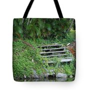 Steps In The Grass Tote Bag