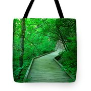 Steps Into Paradise Tote Bag