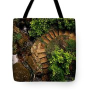 Steps Leading Up The Stairway To Heaven Tote Bag