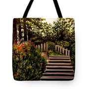 Steps Of Monte Rio Tote Bag