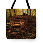 Steps To Bench Tote Bag