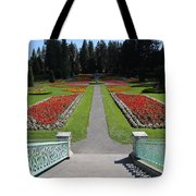 Steps To Duncan Garden Tote Bag