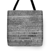 Steps To The Lincoln Memorial Tote Bag