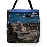 Steps To The Ocean2 Tote Bag