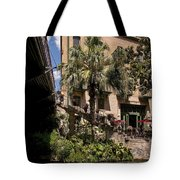 Steps To The Riverwalk Tote Bag