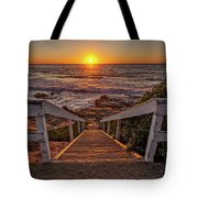 Steps To The Sun  Tote Bag by Peter Tellone