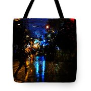 Steps Towards Night  Tote Bag
