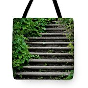 Steps With Ivy Tote Bag
