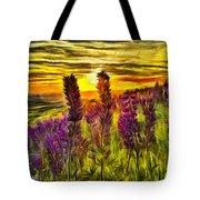 Steptoe Lupine  Tote Bag