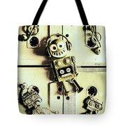 Stereo Robotics Art Tote Bag