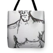 Steriod Dude Tote Bag