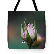 Sterling Rose Tote Bag