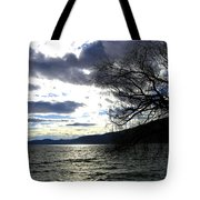 Sterling Silver Sunset Tote Bag
