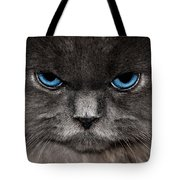 Stern Kitty Tote Bag