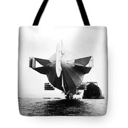 Stern Of Zeppelin Airship - 1908 Tote Bag