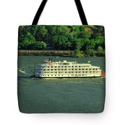 Stern Wheeler On The Columbia River  Tote Bag