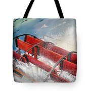 Sternwheeler Splash Tote Bag