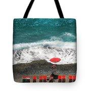 ...stessa Spiaggia... Stesso Mare...  ...the Same Beach... The Same Sea... Tote Bag