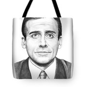 Steve Carell Tote Bag