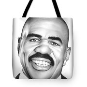 Steve Harvey Tote Bag