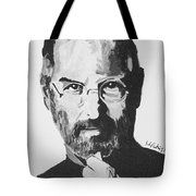 Steve Jobs Tote Bag