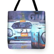 Steve Mcqueen Le Mans Porsche 917 01 Tote Bag