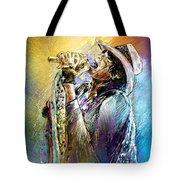 Steven Tyler 01  Aerosmith Tote Bag