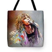 Steven Tyler 02  Aerosmith Tote Bag