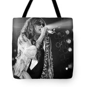 Steven Tyler In Concert Tote Bag