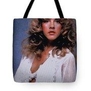 Stevie Nicks In Curls Tote Bag