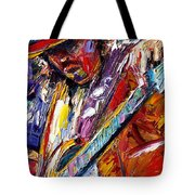 Stevie Ray Vaughan Number One Tote Bag