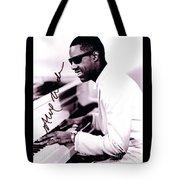 Stevie Wonder Autographed Tote Bag