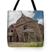 Lean On Me - Stick House Series #3 Tote Bag
