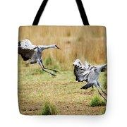 Stick The Landing Tote Bag