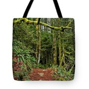 Sticking Out In The Rain Forest Tote Bag
