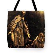 Stigmatisation Of St Francis Tote Bag
