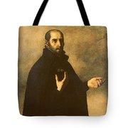 St.ignatius Loyola Tote Bag by Francisco de Zurbaran