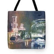 Still Glass Pour Tote Bag