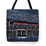 Still In The Sticks Hdr  Tote Bag