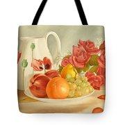 Still Life Tote Bag by Angeles M Pomata