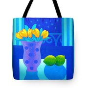 Still Life At Window IIi Tote Bag