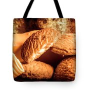 Still Life Bakery Art. Shortbread Cookies Tote Bag