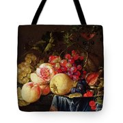 Still Life Tote Bag by Cornelis de Heem